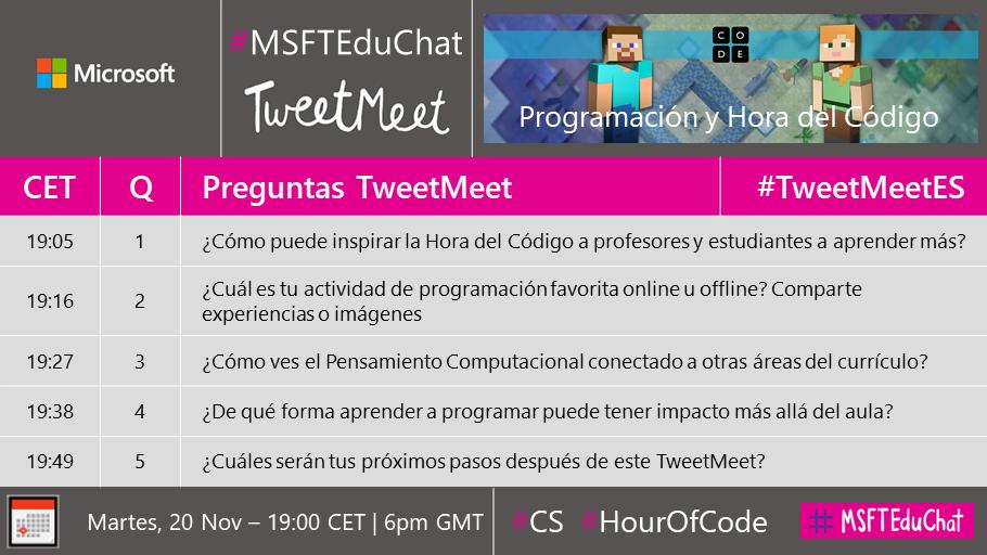 Question timings en Español